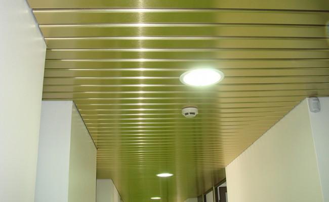 Pose de faux plafond métallique – La pairie – Rhône