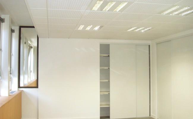 """Pose de Faux plafond Rhône – Bureaux du département du Rhône """"La pairie"""""""