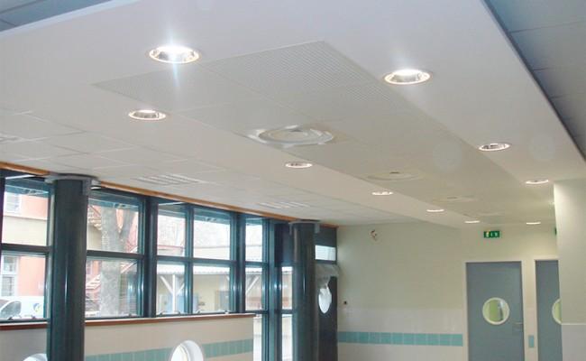 Plafonds suspendus – Ecole primaire