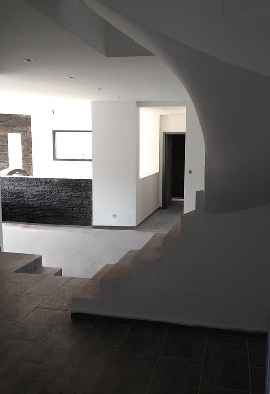 construction maison d'architecte