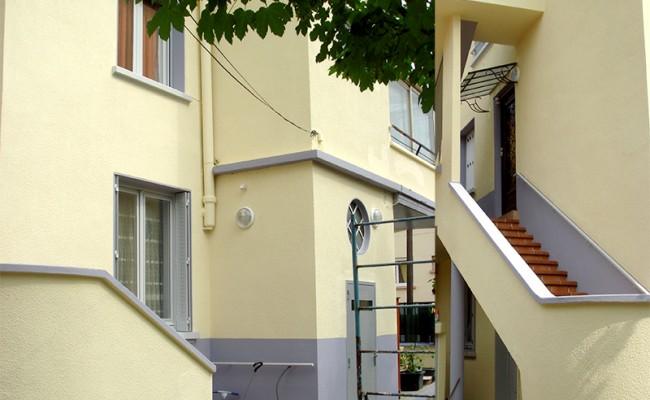 Facade immeuble – Villeurbanne