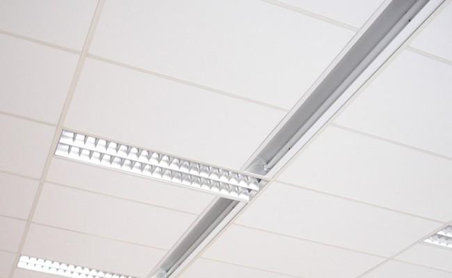 Pose de faux plafond établissement scolaire – Ecole primaire Jules Verne, Lyon 3e