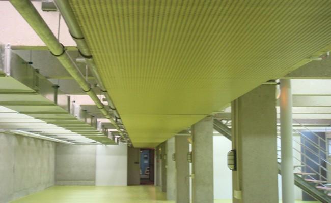 travaux de peinture – Campus de la Doua