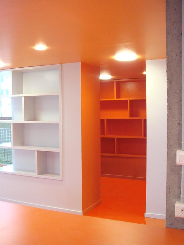 cloison design – Campus de la Doua