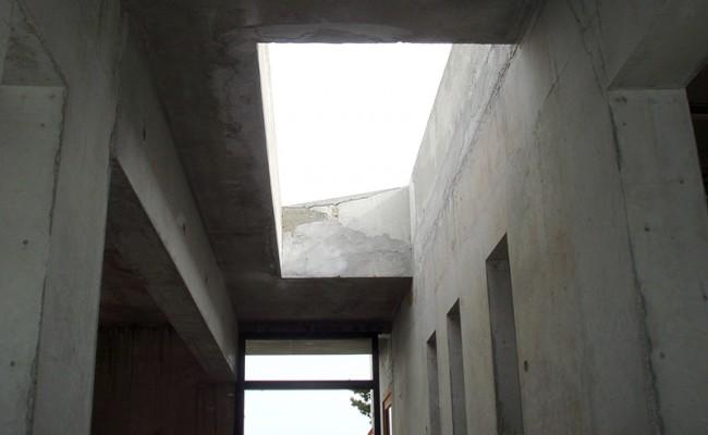 puit de lumiere maison d'architecte Soucieu-en Jarrest